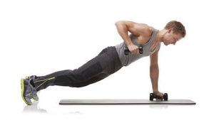 ورزش در حالت پلانک با وزنه