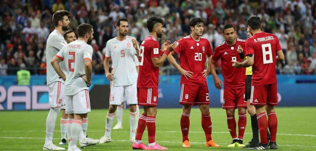 ایران 0 اسپانیا 1