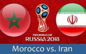 تیم ملی فوتبال ایران 1 مراکش 0