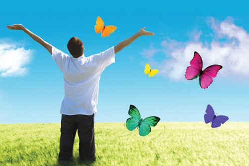 راه رسیدن به شادی واقعی