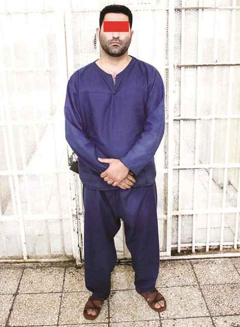 سعید صالحی قاتل وحید مرادی 2