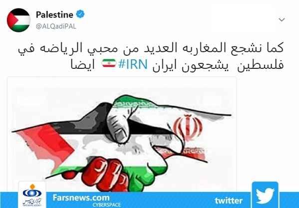 شایعات جام جهانی حمایت دونده فلسطینی از ایران
