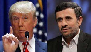 احمدی نژاد ترامپ