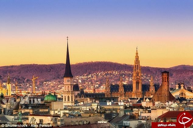 بهترین شهرهای جهان برای زندگی وین اتریش