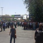 تجمع اعتراضی مردم شیراز در واکنش به گرانی! + تصاویر
