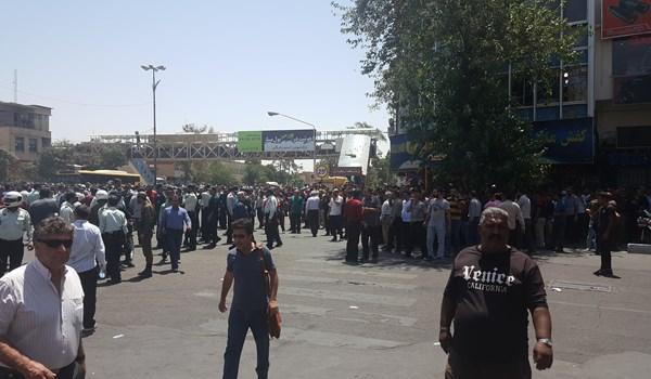 تجمع اعتراضی مردم شیراز 1