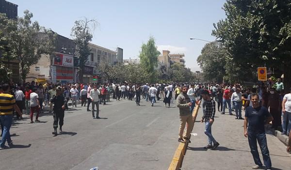 تجمع اعتراضی مردم شیراز 2