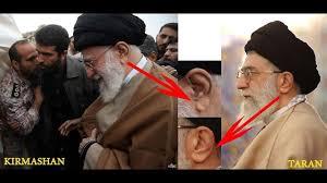 تفاوت گوش رهبر انقلاب با بدلشان میرطاهر