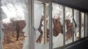 حمله اغتشاشگران به حوزه علمیه اشتهارد کرج