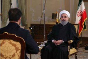 رئیس جمهور حسن روحانی در تلوزیون