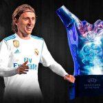 لوکا مودریچ مرد سال فوتبال اروپا شد! + تصاویر