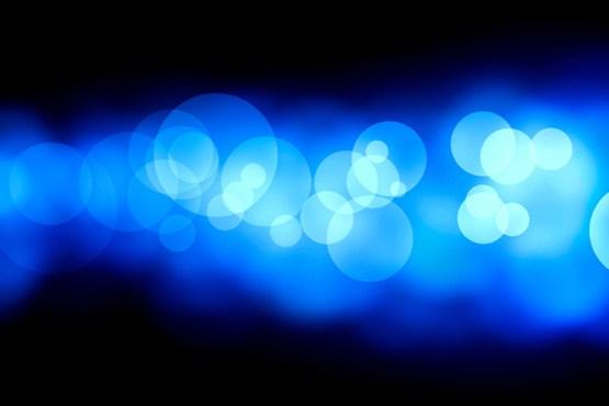 نور نور آبی