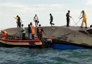 غرق شدن کشتی در تانزانیا