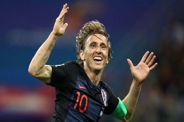 لوکا مودریچ مرد سال فوتبال جهان