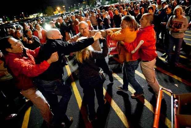 خشونت در جمعه سیاه