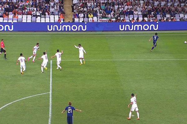 جام ملت های آسیا ایران ژاپن 1