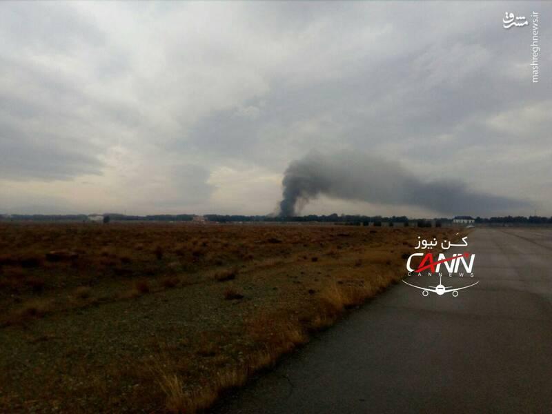سقوط هواپیمای بوئینگ در صفا دشت تهران 2