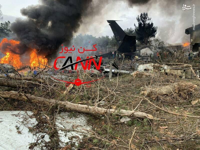 سقوط هواپیمای بوئینگ در صفا دشت تهران 3