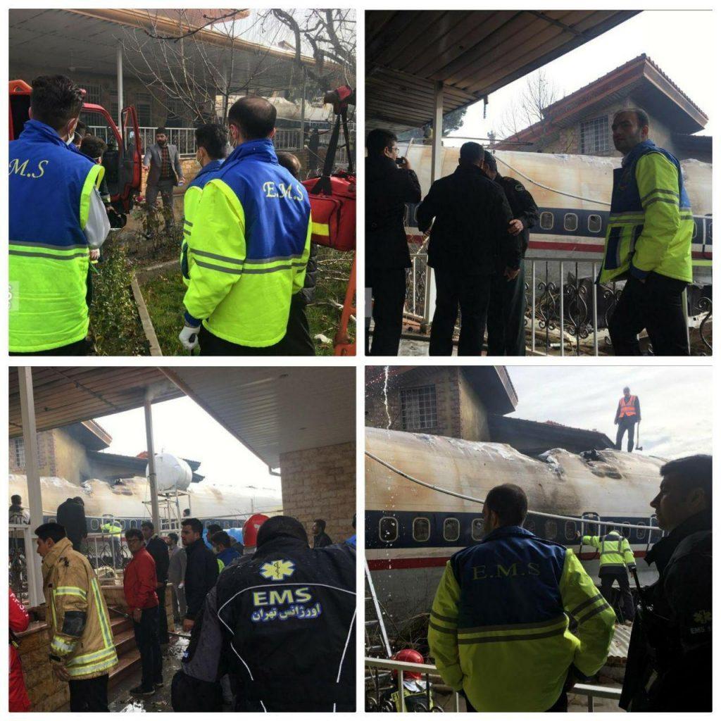 سقوط هواپیمای بوئینگ در صفا دشت تهران 4