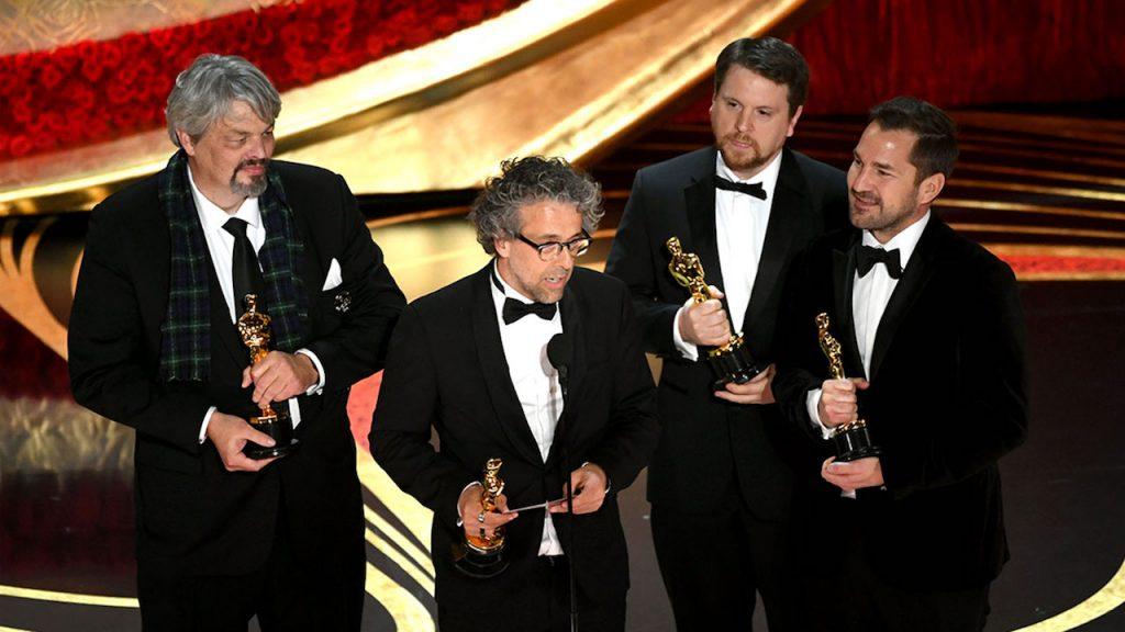 برنده اسکار بهترین جلوههای ویژه اولین انسان