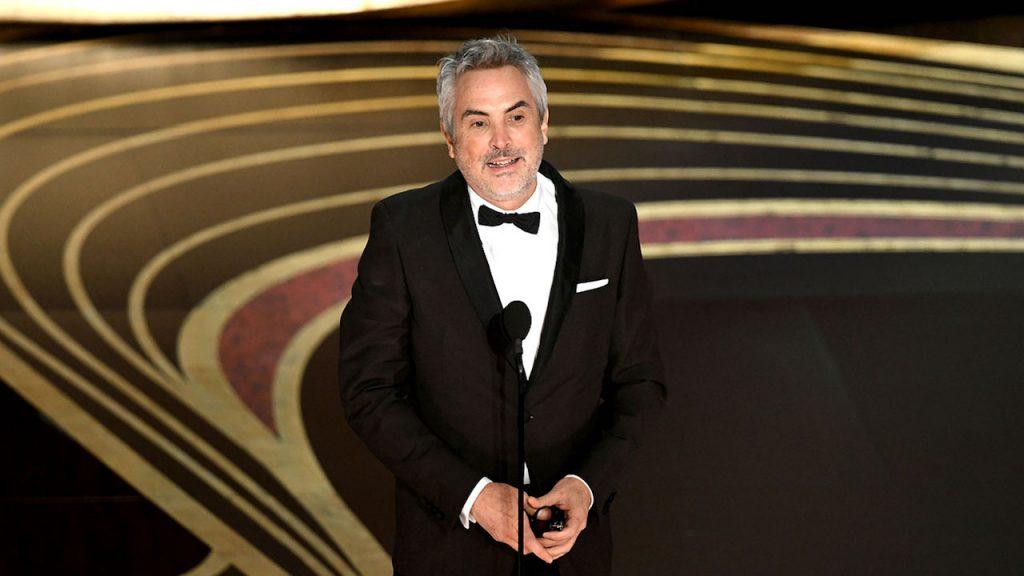 برنده جایزه اسکار برای بهترین کارگردانی آلفونسو کوآرون برای فیلم روما