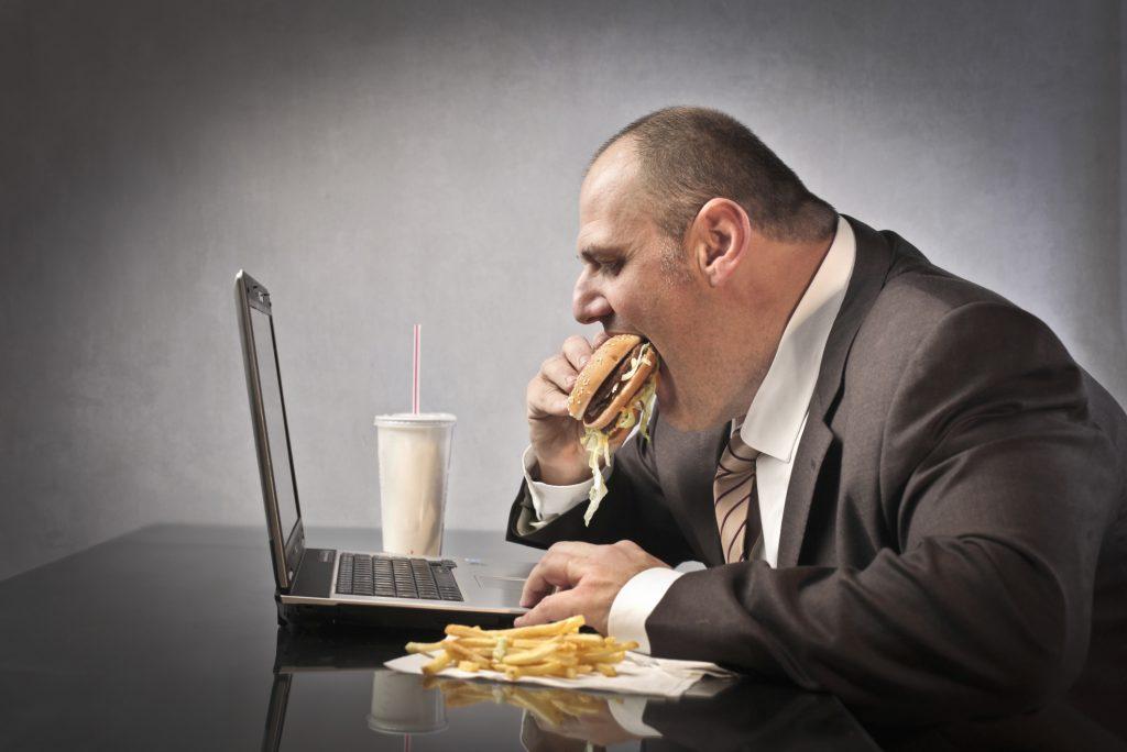 کاهش وزن پرخوری