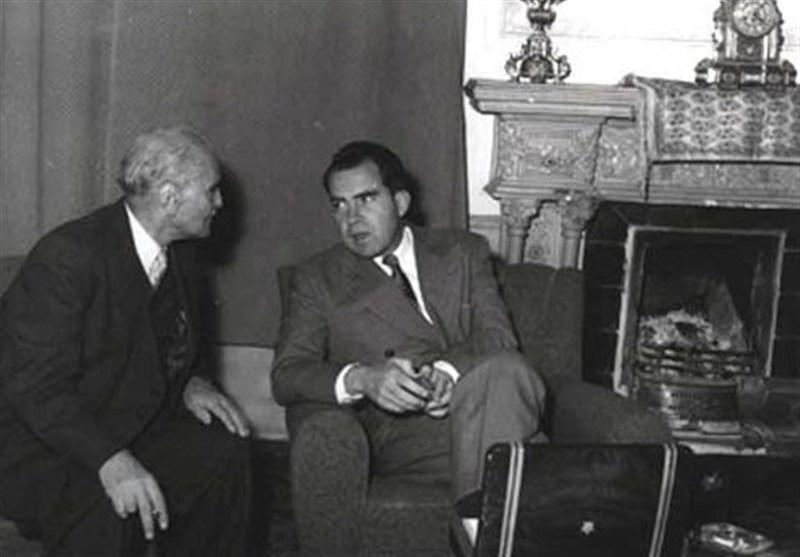 سید حسن تقی زاده و نیکسون