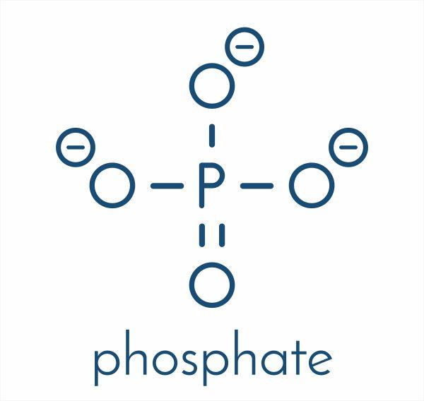 فرمول شیمیایی فسفات غیرارگانیک