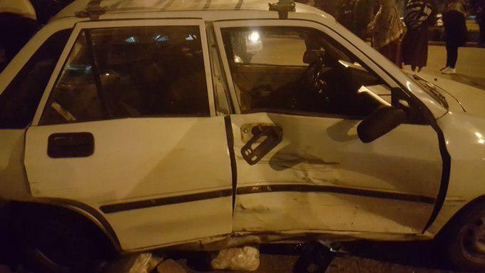 تصادف پورشه و پراید در اصفهان 2