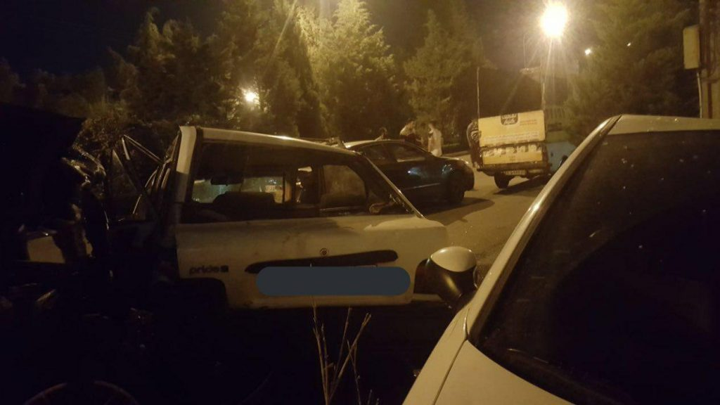 تصادف پورشه و پراید در اصفهان 4