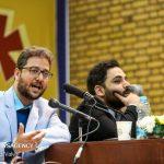 درگیری لفظی دکتر بشیر حسینی با دانشجویان دانشگاه تهران