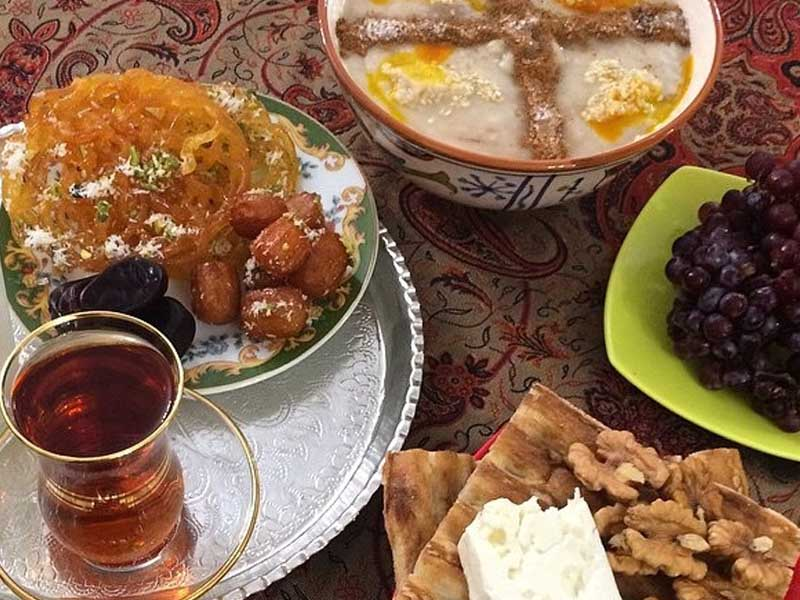 رژیم غذایی ماه رمضان 9