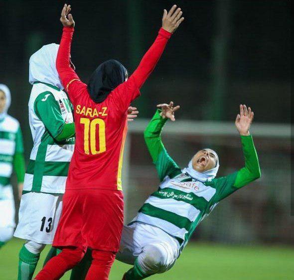 زد و خورد شدید در فوتبال زنان ایران 3
