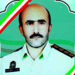 شهادت سرگرد حاجی مرادی در درگیری با سارقان مسلح + تصاویر