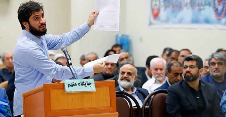 سید هادی رضوی در دادگاه