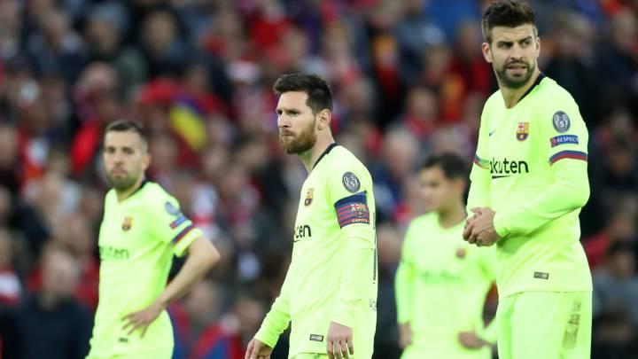 شکست بارسلونا