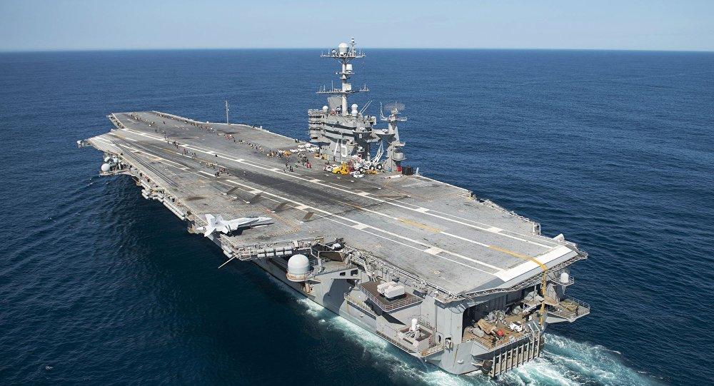 ناو جنگی آمریکا در خلیج فارس 1