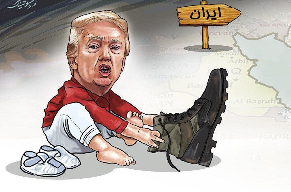 واکنش اسپونتیک از نشر خبر حمله آمریکا به ایران