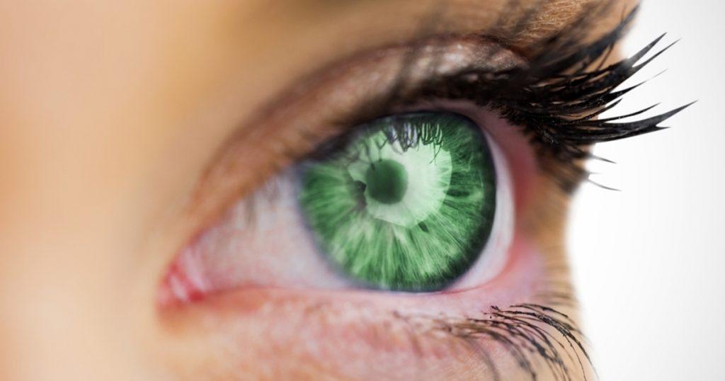 چشم سبز