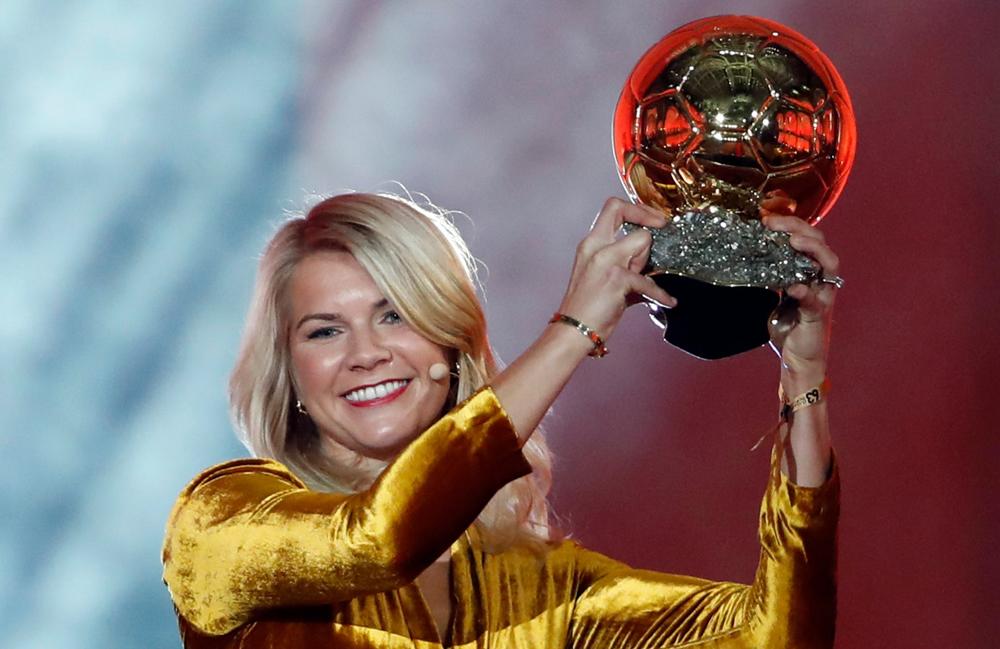 بهترین بازیکن فوتبال زنان جهان