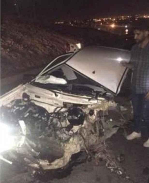 تصادف قهرمان کاراته نوید محمدی