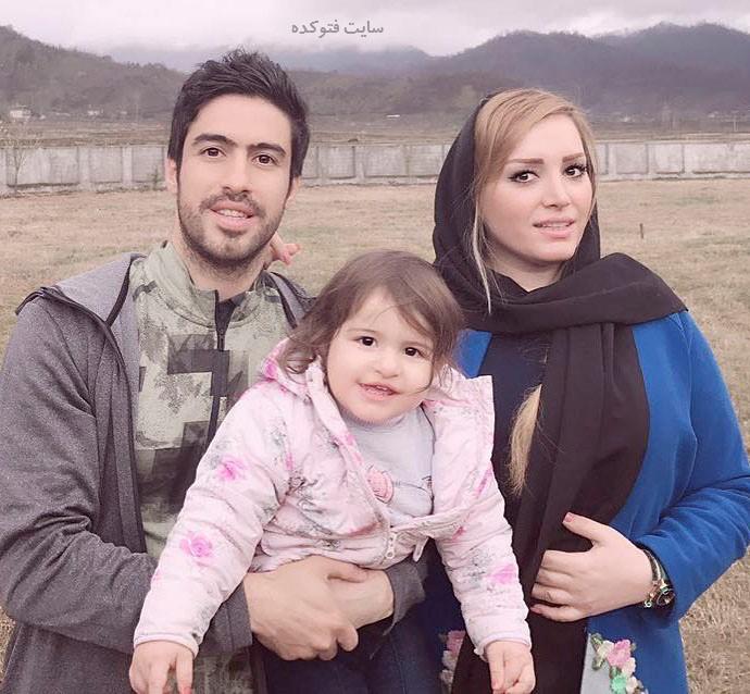 خسرو حیدری و همسرش لاله شفیع زاده