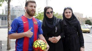 رضا پرستش بدل ایرانی لیونل مسی و واکنش به شایعه گری لینکر