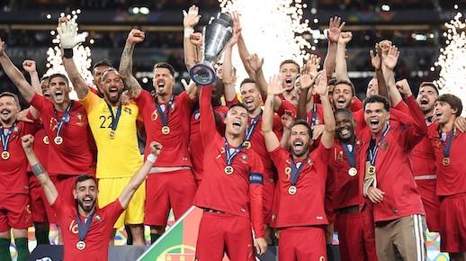 قهرمانی کریستیانو رونالدو با تیم ملی پرتقال