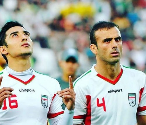 قوچان نژاد و سید جلال