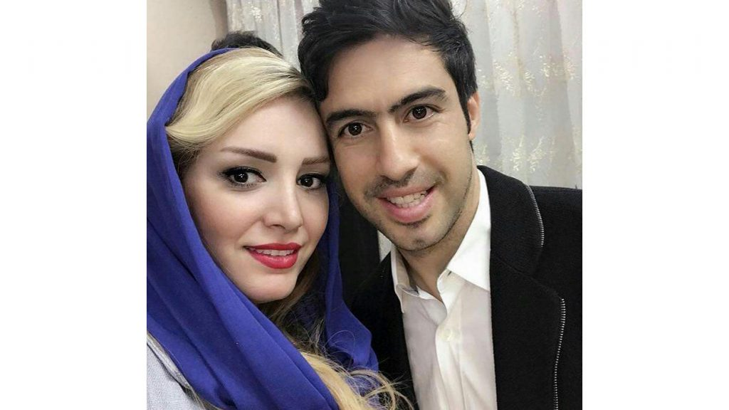 لاله شفیع زاده و همسرش خسرو حیدری
