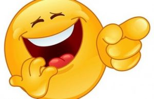 لبخند طنز خنده