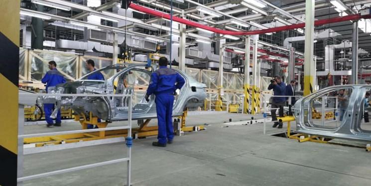 افتتاح خط تولید پژو ۳۰۱