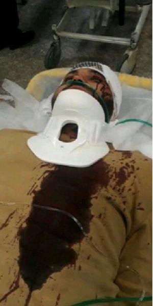امیر دهقان طلبه ای که مورد حمله 9 نفر با سلاح سرد قرار گرفت 1