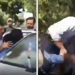برخورد پلیس با دختر جوان
